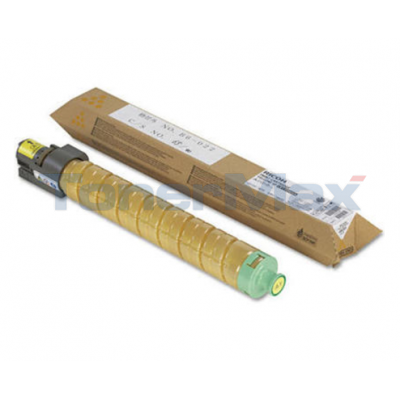 RICOH AFICIO MPC2500 TONER CARTRIDGE YELLOW